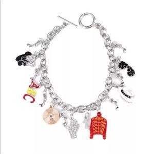 Michael Jackson Janet Jackson charm bracelet